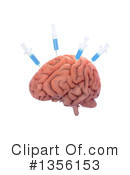 Royalty-Free (RF) Brain Clipart Illustration #1356153
