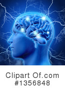 Brain Clipart #1356848 by KJ Pargeter