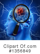 Brain Clipart #1356849 by KJ Pargeter