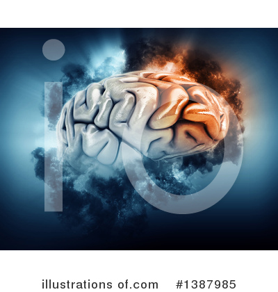 Brain Clipart #1387985 by KJ Pargeter
