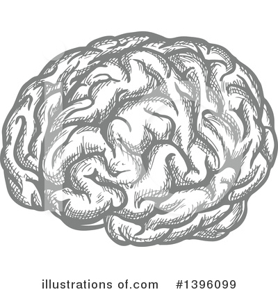 Brain Clipart #1396099 by Vector Tradition SM