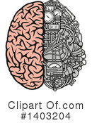 Brain Clipart #1403204 by Vector Tradition SM