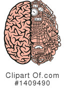 Royalty-Free (RF) Brain Clipart Illustration #1409490