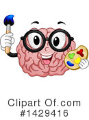 Royalty-Free (RF) Brain Clipart Illustration #1429416