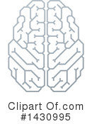 Royalty-Free (RF) Brain Clipart Illustration #1430995