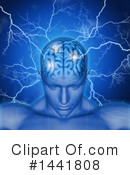 Royalty-Free (RF) Brain Clipart Illustration #1441808