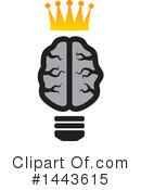 Royalty-Free (RF) Brain Clipart Illustration #1443615