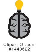 Royalty-Free (RF) Brain Clipart Illustration #1443622