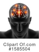 Brain Clipart #1585504 by KJ Pargeter