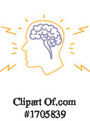 Brain Clipart #1705839 by patrimonio