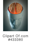 Royalty-Free (RF) Brain Clipart Illustration #433380