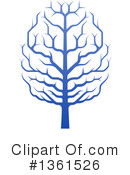 Royalty-Free (RF) Brain Tree Clipart Illustration #1361526