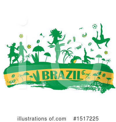 Flag Clipart #1517225 by Domenico Condello