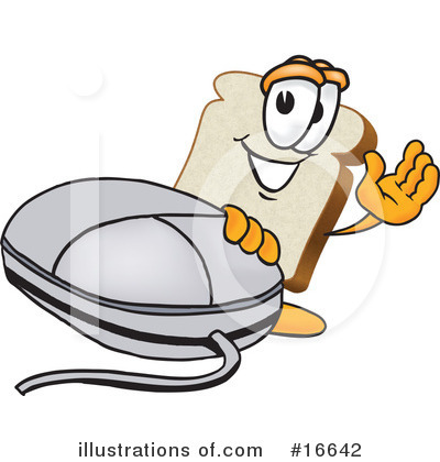 Computer Mouse Clipart #16642 by Toons4Biz