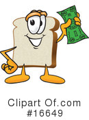 Bread Character Clipart #16649 by Toons4Biz