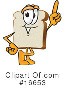 Bread Character Clipart #16653 by Toons4Biz