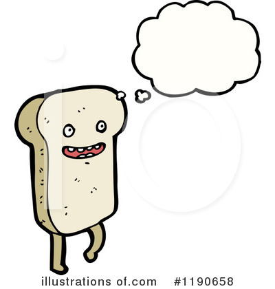 Bread Clipart #1190658 by lineartestpilot