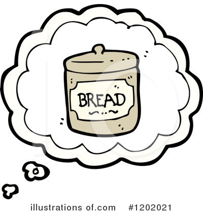 Bread Clipart #1202021 by lineartestpilot