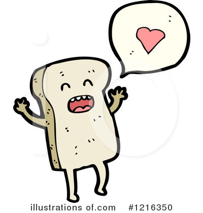 Bread Clipart #1216350 by lineartestpilot