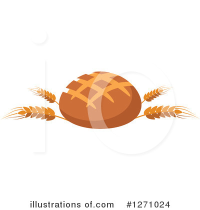 Bread Clipart #1271024 by Vector Tradition SM