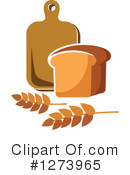 Bread Clipart #1273965 by Vector Tradition SM