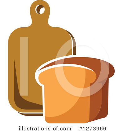 Bread Clipart #1273966 by Vector Tradition SM