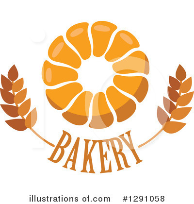 Bread Clipart #1291058 by Vector Tradition SM