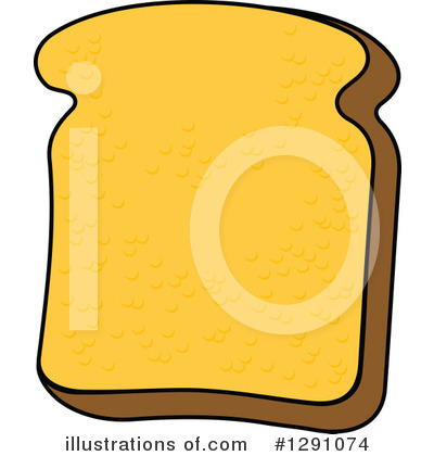 Royalty-Free (RF) Bread Clipart Illustration by Vector Tradition SM - Stock Sample #1291074