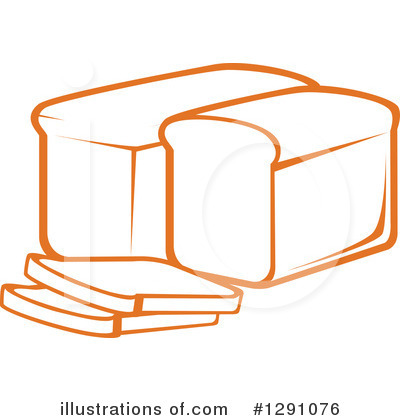 Bread Clipart #1291076 by Vector Tradition SM
