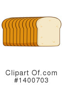 Bread Clipart #1400703 by Hit Toon