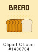 Royalty-Free (RF) Bread Clipart Illustration #1400704