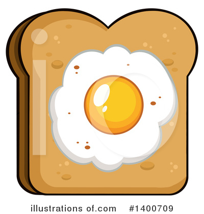 Royalty-Free (RF) Bread Clipart Illustration by Hit Toon - Stock Sample #1400709