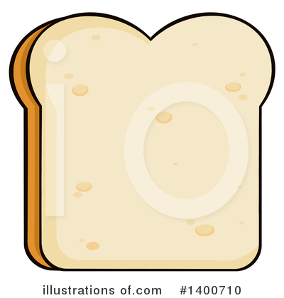 Royalty-Free (RF) Bread Clipart Illustration by Hit Toon - Stock Sample #1400710