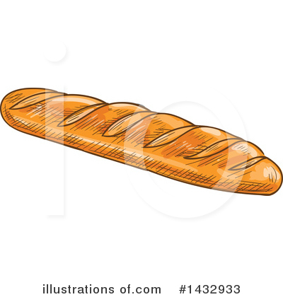 Bread Clipart #1432933 by Vector Tradition SM