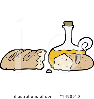 Bread Clipart #1490510 by lineartestpilot