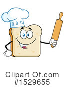 Bread Clipart #1529655 by Hit Toon