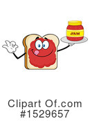Bread Clipart #1529657 by Hit Toon