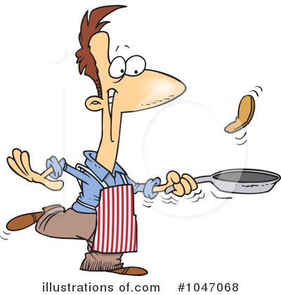 Men's Breakfast Clip Art