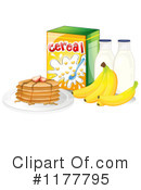 Royalty-Free (RF) Breakfast Clipart Illustration #1177795