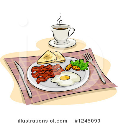 Royalty-Free (RF) Breakfast Clipart Illustration by BNP Design Studio ...