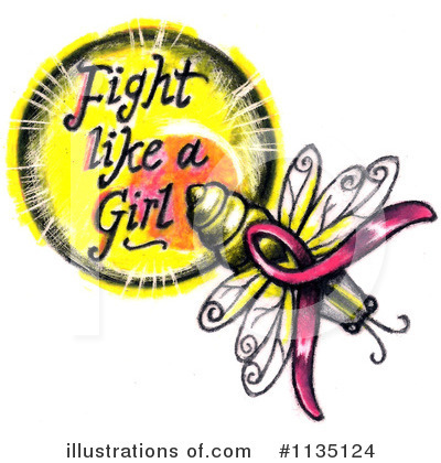 Breast Cancer Clipart #1135124 by LoopyLand