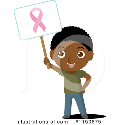 Royalty-Free (RF) Breast Cancer Clipart Illustration by Rosie Piter - Stock Sample #1150875