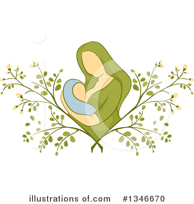 Mother Clipart #1346670 by BNP Design Studio