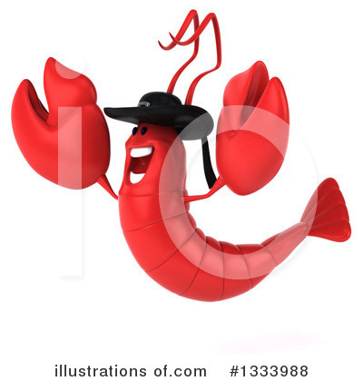 Lobster Clipart #1333988 by Julos