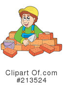 Bricklayer Clipart #213524 by visekart
