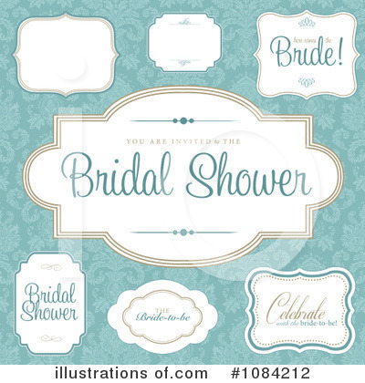 Royalty-Free (RF) Bridal Clipart Illustration by BestVector - Stock Sample #1084212
