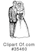 Royalty-Free (RF) Bridal Clipart Illustration #35460