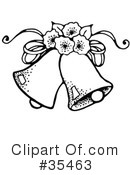 Royalty-Free (RF) Bridal Clipart Illustration #35463