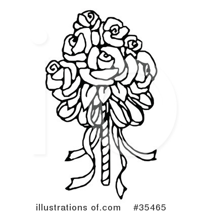 Royalty-Free (RF) Bridal Clipart Illustration by C Charley-Franzwa - Stock Sample #35465