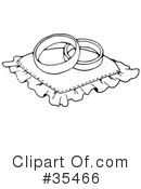 Royalty-Free (RF) Bridal Clipart Illustration #35466